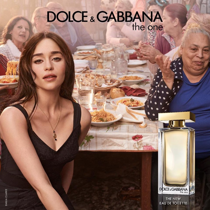 Emilia-Clarke-Dolce-Gabbana-The-One-Fragrance-Campaign